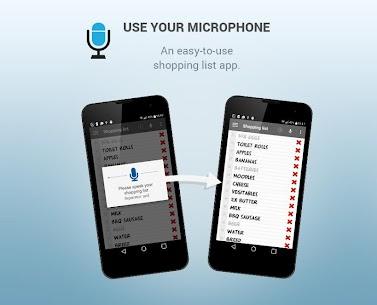Shopping list voice input PRO 5.6.11 Apk 3