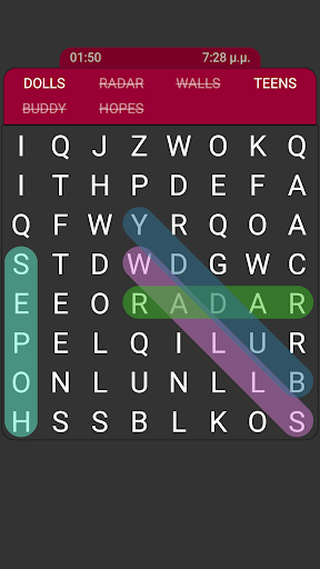 Word Search - English screenshots 17