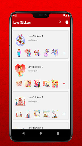 I Love You Stickers for Whatsapp - WAStickerapps  Screenshots 1