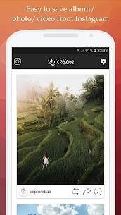 QuickSave for Instagram Premium Apk (Premium Unlocked) 1