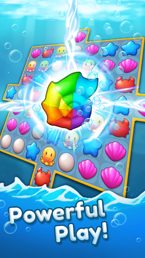Ocean Friends : Match 3 Puzzle 41 screenshots 16