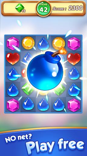 Jewel & Gem Blast - Match 3 Puzzle Game 2.5.1 screenshots 2