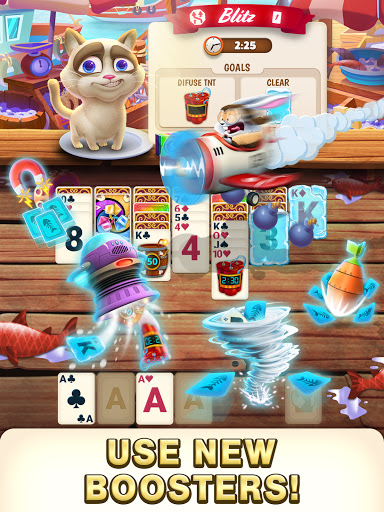 Solitaire Pets Adventure - Free Solitaire Fun Game  screenshots 3