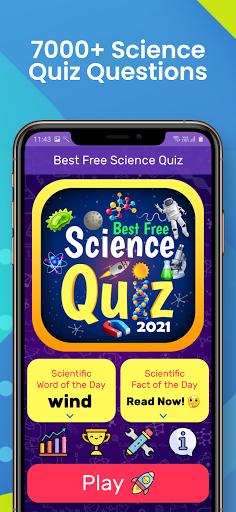 Best Free Science Quiz: New 2021 Version screenshots 9