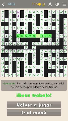 Crosswords - Spanish version (Crucigramas) 1.2.3 Screenshots 19