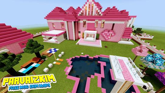 Addon Barbie – Mod Barbie Pink Skin MCPE Apk Download NEW 2021 4