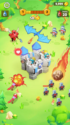 Stickman War: Supreme Tower Attack screenshots 3