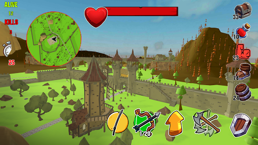 Code Triche Lord Hau!- Medival Pixel Battle Royale apk mod screenshots 3