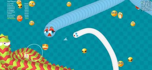 Worms Dash.IO-snake battle zone goodtube screenshots 3