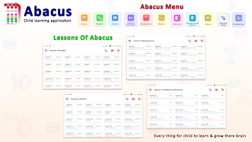 Abacus - Child Learning Application