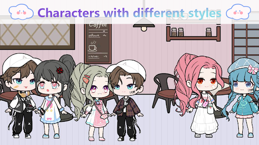 YOYO Doll - dress up games, avatar maker  screenshots 1