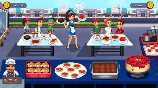 Cooking Cafe - Food Chef 4.0 screenshots 11