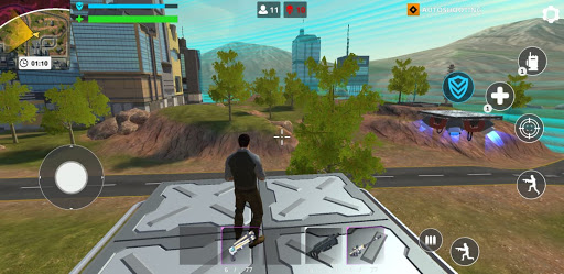 Cyber Fire: Free Battle Royale & Shooting games 2.2.3 Screenshots 3