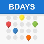 Birthday calendar reminder