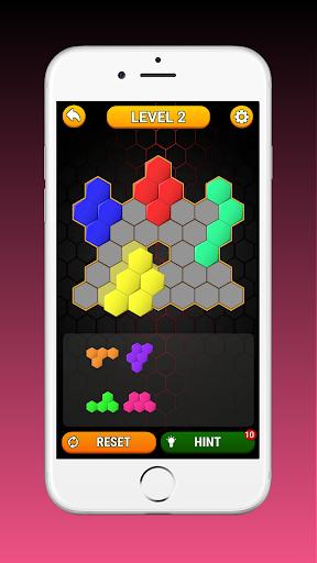 Code Triche Hex Block! Hexa Match Puzzle Game (Astuce) APK MOD screenshots 2