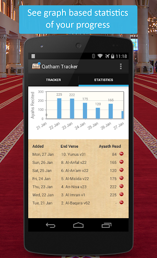 Qatham Tracker - Quran Recital For PC Windows (7, 8, 10, 10X) & Mac Computer Image Number- 6