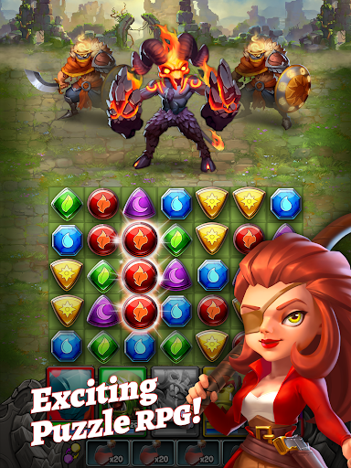 Dragon Strike: Puzzle RPG 0.3.7 screenshots 13