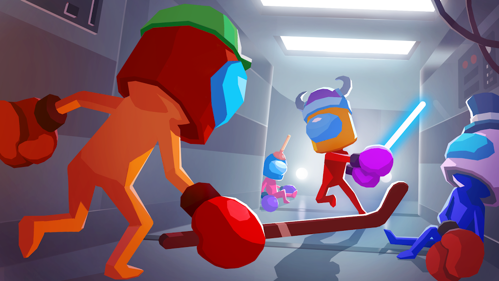 Gang Boxing Arena: Stickman 3D Fight poster 0