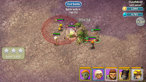 Forest Of Heroes : Clash Of Hero apktreat screenshots 1