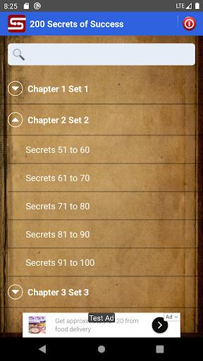 200 Secrets of Success screenshots 1