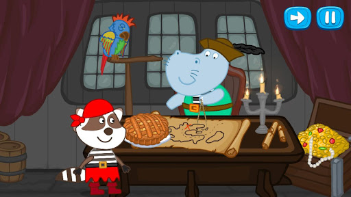 Pirate treasure: Fairy tales for Kids 1.5.6 screenshots 8