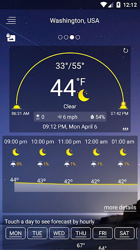 Weather Forecast  Screenshots 1