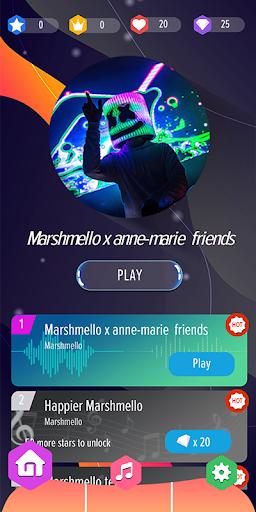 Marshmello Piano Tiles DJ  screenshots 1