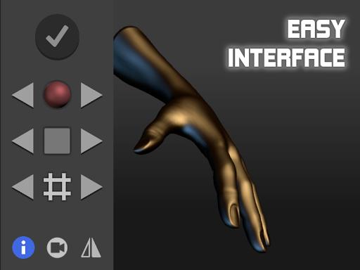 Hand Draw 3D Pose Tool FREE 2.18 Screenshots 6
