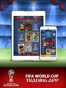 FIFA World Cup Trading App Screenshot