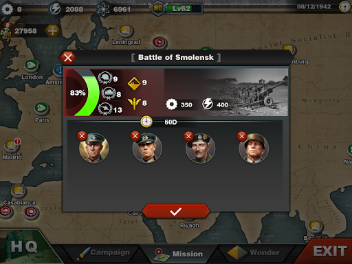 World Conqueror 3  - WW2  Strategy game  screenshots 7