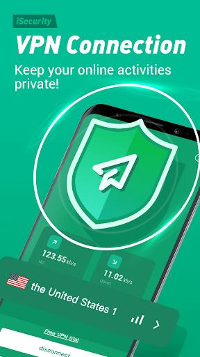 Antivirus, Virus Cleaner, Super Clean - iSecurity apktram screenshots 3