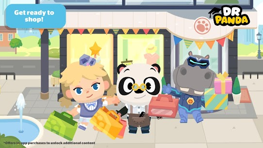 Dr. Panda Town Mall MOD (Unlimited Money) 1