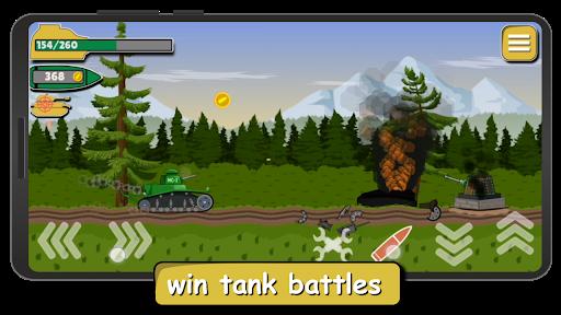 Tank Battle War 2d: game free 1.0.4.3 screenshots 2