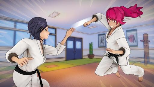 Anime High School Girls- Yandere Life Simulator 3D apkpoly screenshots 11