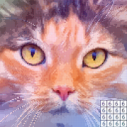 Pixel Art - Color by Number, Paint by Number, Free