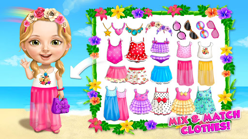 Sweet Baby Girl Summer Fun 2 - Sunny Makeover Game Apkfinish screenshots 3
