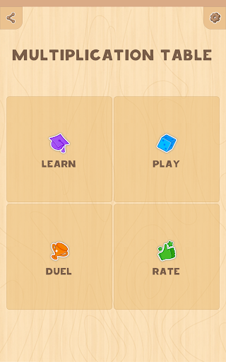 Multiplication table. Learn and Play! 1.2 Screenshots 9