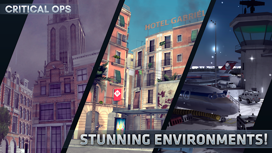 Critical Ops Online Multiplayer FPS Shooting Game Mod Apk