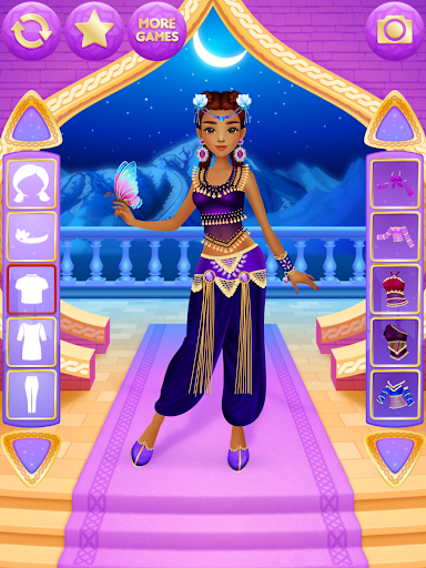 Arabian Princess Dress Up apktram screenshots 10