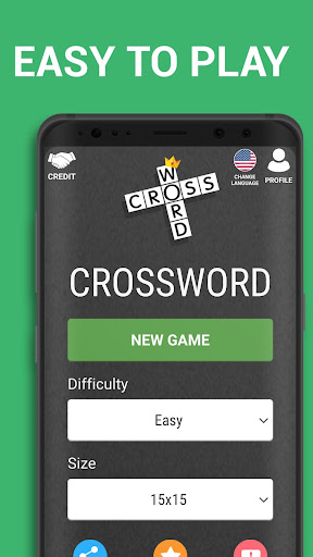 Crossword Puzzle Free Classic Word Game Offline 3.8 screenshots 1