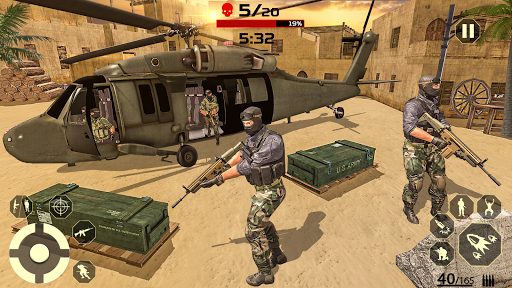 FPS Shooter Game: Offline Gun Shooting Games Free 1.1.4 screenshots 6