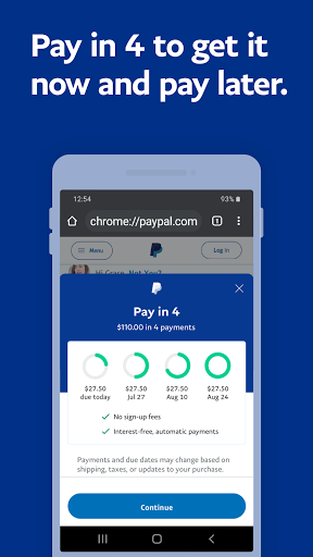 PayPal Mobile Cash: Send and Request Money Fast screenshots 4