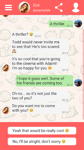 Hey Love Adam: Texting Game android2mod screenshots 5