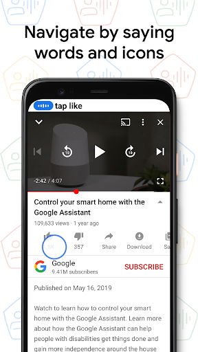 Voice Access android2mod screenshots 2