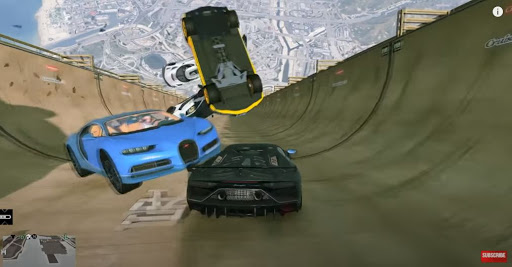 Mega Ramp Car Stunt 3D: Car Stunt Game 1.0 screenshots 2