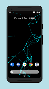 Particle Live Wallpaper Pro Free Screenshot