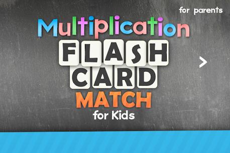 Multiplication Flash Cards Games Fun Math Practice Apk Download 3