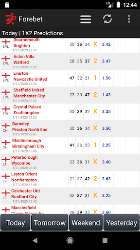 Football Predictions Forebet 1.96 Screenshots 1