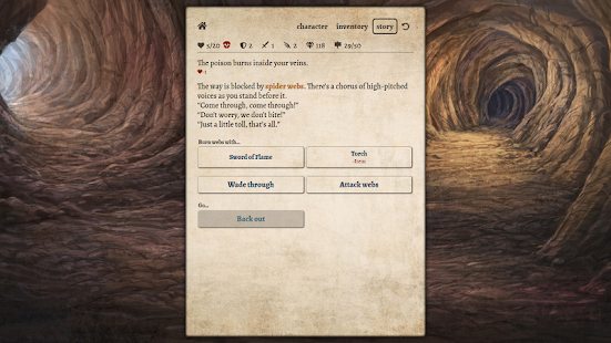 Path of Adventure - Text-based roguelike