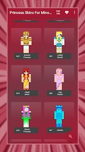 Princess Skins for Minecraft